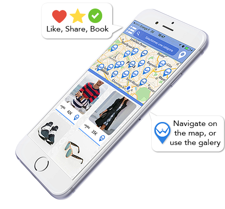 Westi App Shopping Phone
